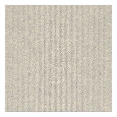 "Cutting Edge 24""x24"" Self-Adhesive Carpet Tiles, Oatmeal"