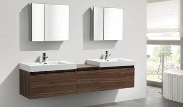 Featured Brands: Bathroom Vanities and Mirrors