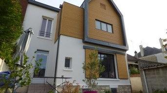Surélévation bois d'une maison à Saint-Maur-des-Fossés