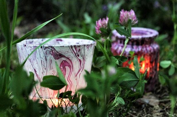 diy gl sernes windlicht basteln mit marmorierfarbe. Black Bedroom Furniture Sets. Home Design Ideas