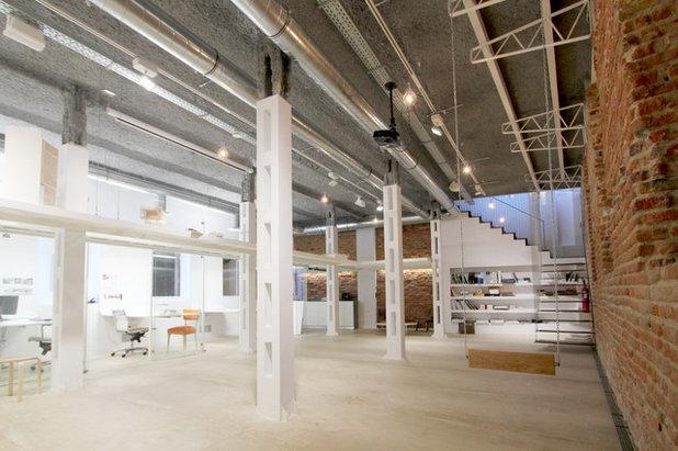 Arquitectura un espacio h brido en pleno coraz n de madrid - Muka arquitectura ...