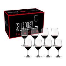 Riedel - Riedel Vinum Cabernet Sauvignon Merlot Bordeaux Pay 6 Get 8 Glasses, Set of 8 - Wine Glasse