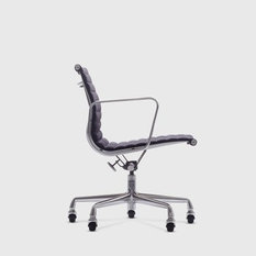 eames aluminium group management chair office chairs