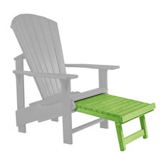 cr plastic products generations upright adirondack chair pull out footstool kiwi lime outdoor