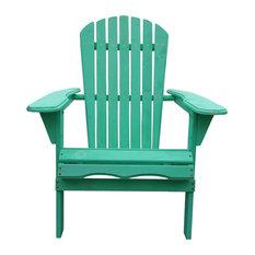 Villaret Adirondack Chair, Green