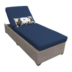 Oasis Chaise Outdoor Wicker Patio Furniture