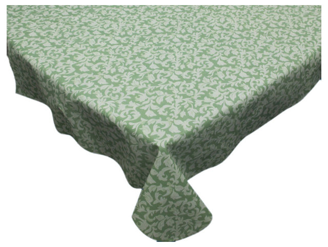 American Crafts 70 Quot Round Vinyl Tablecloth With Flannel