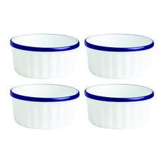 Fairmont and Main Canteen Ramekin Dishes, Set of 4, Medium