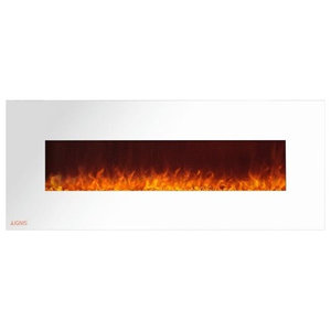 Pleasing Electric Fireplace Mount Color Led Flame Remote 50 In By Download Free Architecture Designs Intelgarnamadebymaigaardcom