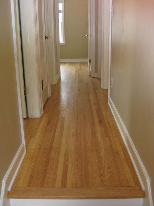 1950u0027s Red Oak Hardwood Flooring Resand