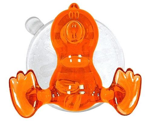 Super Strong Suction Hooks, Baby Bird, Orange   Robe U0026 Towel Hooks