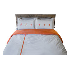 Vertical Stripe Full/Queen Duvet Set