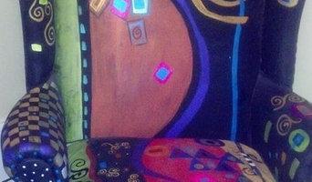 Hand painted furnishings