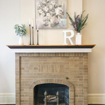 Tower Grove East Fireplace