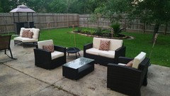 Epic I have maximized my space with seating areas Can ut wait to get my bistro set