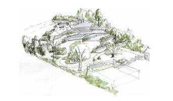 Woodland Garden Isomentric - Proposal 1
