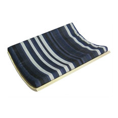 Curve Wall-Mounted Pet Bed, Birch/Stripe, One Size