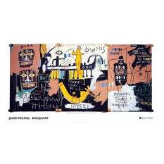 Jean Michel Basquiat Large Rare Provactive Art Print!