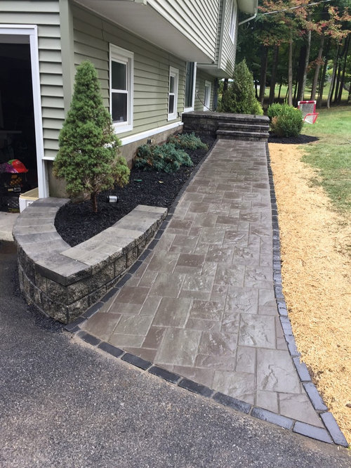 Unilock Treo New York Blend Walkway And Front Stoop