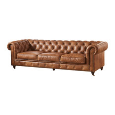 Brown Chesterfield Sofas | Houzz