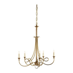 Visual comfort chandeliers houzz visual comfort visual comfort lighting studio twist 5 light chandelier chandeliers aloadofball Choice Image