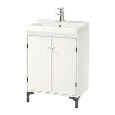 SILVERÅN / TÄLLEVIKEN Wash-basin cabinet with 2 doors - Bathroom Vanity Units &