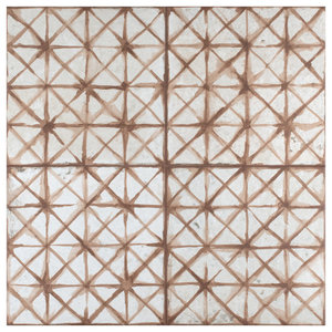 Royals Cathedral Ceramic Floor and Wall Tile, Oxide, Sample