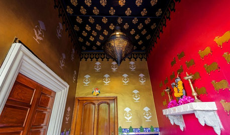 My Houzz: For This Jaipur Home, God is in the Details (Literally)