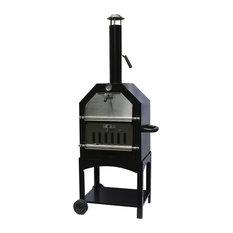 La Hacienda Steel Pizza Oven