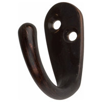"1-3/4"" Small Robe/Coat Hook, Set of 3, Oil Rubbed Bronze"