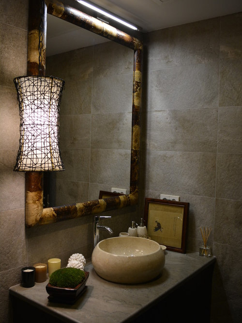 1 022 Asian Powder Room Design Ideas Amp Remodel Pictures
