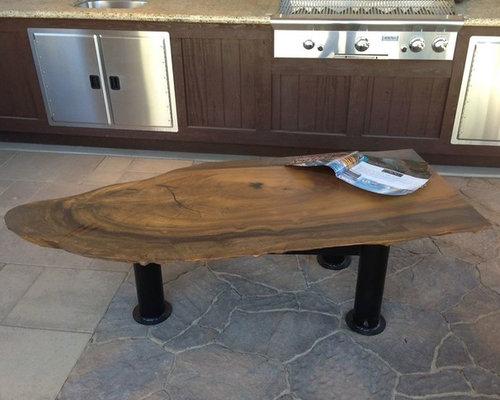 Reclaimed Wood Coffee Table by Stone Wood n Steel - Coffee Tables