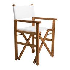 Era Garden Director's Chair, Walnut Stain