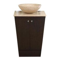 """Silkroad 22"""" Modern Single Sink Bathroom Vanity"""