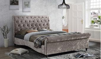 Brighton Fabric Bed Frame