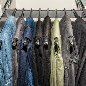Closet Pant Rack