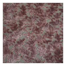Romeo Burn Out Velvet Upholstery Fabric, Rose