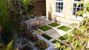Elmfield Gardens - Contempary Low Maintenance Garden