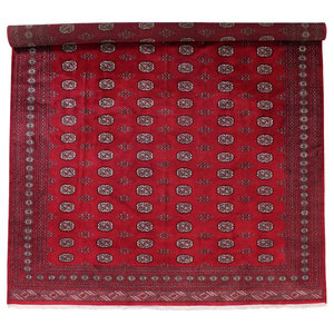 Pakistan Buchara 2Ply Oriental Rug, Pakistan Hand-Knotted, 420x305 cm