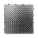 "12""x12"" DuraGrid Outdoor Deck Tile, Gray"