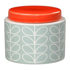 Orla Kiely Storage Jar, Duck Egg, Small