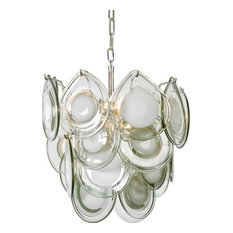 Regina Andrew Design Mini Diva Chandelier, Gray