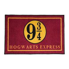 "Hogwarts Express Platform 9 3/4 Welcome Doormat, 24""x36"""