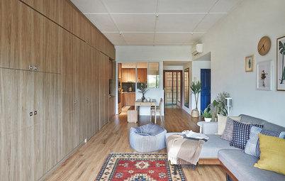 Houzz Tour: Muji-inspired Apartment Keeps Things Minimalist