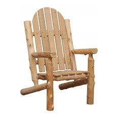 Rustic and Natural Cedar Adirondack Chair