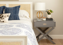 Love the bedside table. Where is it from?