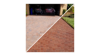 Silacast Before and After (Pavers)