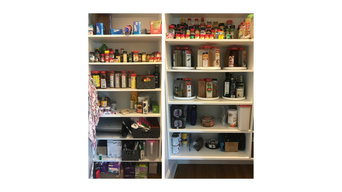 Kitchen pantry and storage closet