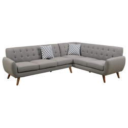 Midcentury Sectional Sofas by Infini Furnishings