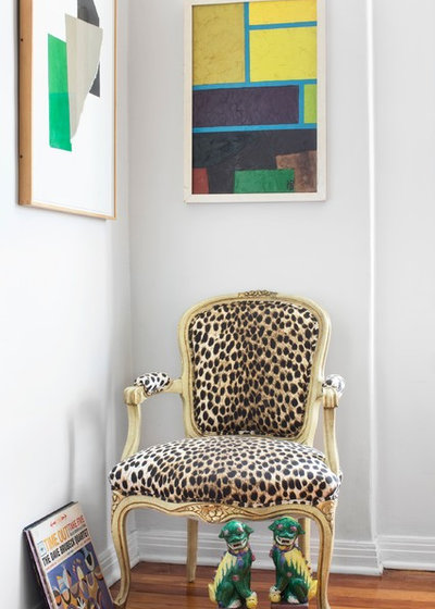 Eclectic Living Room by Max Humphrey Interior Design